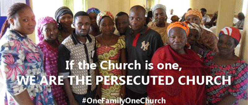 We Are The Persecuted Church